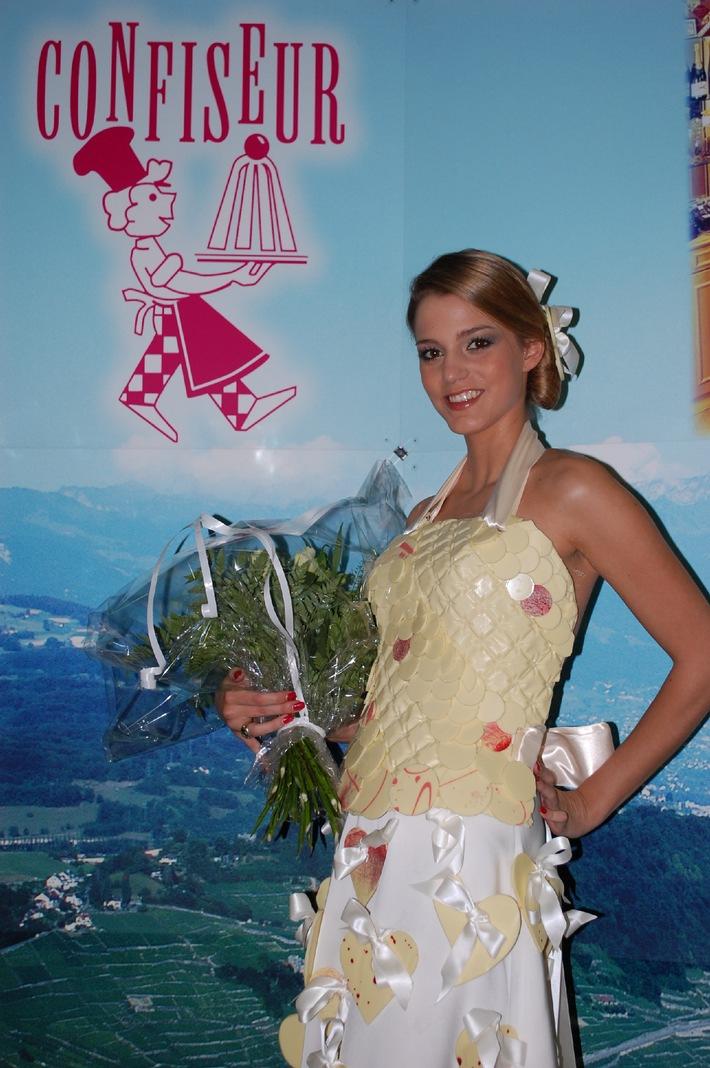 Miss Suisse romande en chocolat