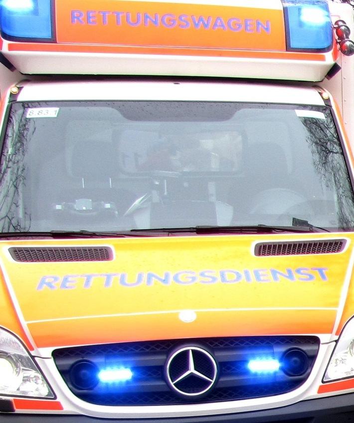 Symbolbild: Rettungswagen im Einsatz