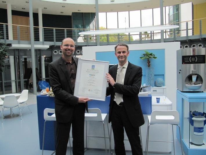 BRITA GmbH nach DIN EN ISO 9001 zertifiziert (mit Bild)