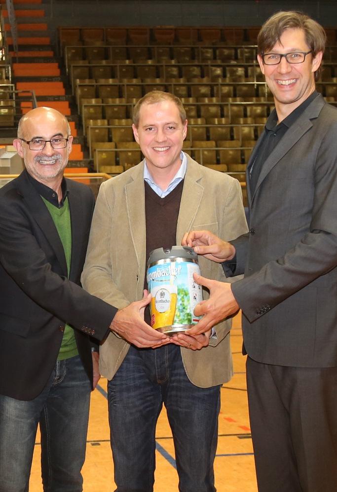 Krombacher Brauerei bleibt weitere drei Jahre Sponsor-Partner von Phoenix Hagen