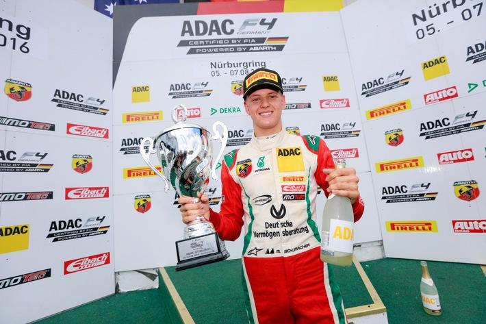ADAC Formel 4-Vizemeister Mick Schumacher zieht positives Saisonfazit