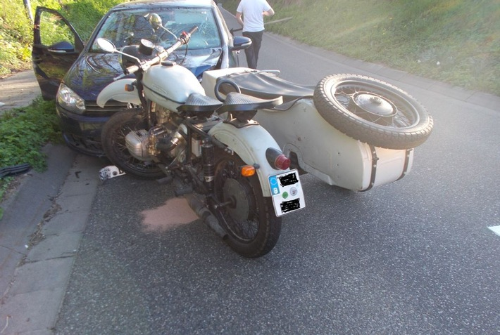 POL-PDLD: Motorradunfall