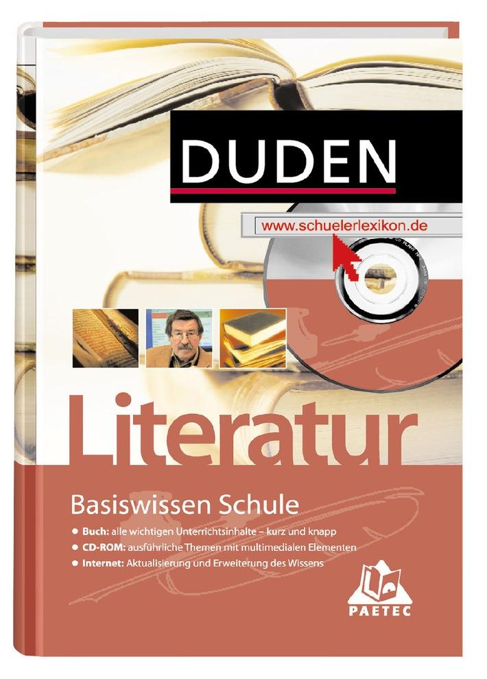 """""""Duden: Basiswissen Schule - Literatur"""" mit dem Deutschen Bildungssoftware-Preis """"digita"""" ausgezeichnet"""