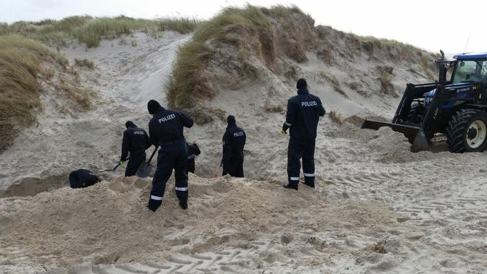 POL-FL: Amrum: Polizei findet Leichnam von Ceetin K. auf Amrum