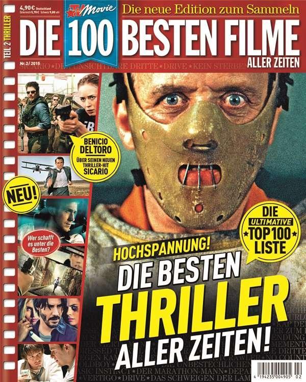 TV Movie bietet Nervenkitzel ohne Ende / Zweite Ausgabe der Premium-Sammeledition zeigt die besten Thriller aller Zeiten