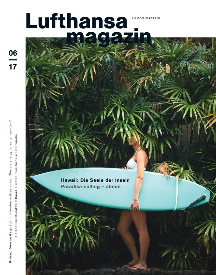 """Hollywood-Star Richard Gere im Lufthansa Magazin: """"Ich versuche selbstlos zu sein"""""""