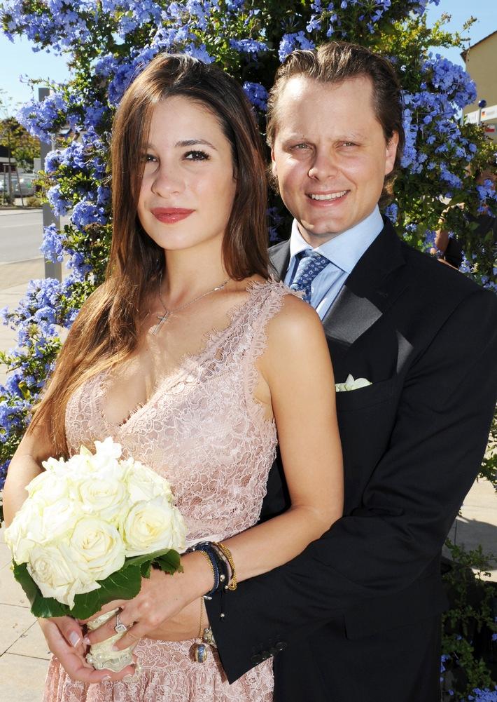 Charles Graf von Faber-Castell heiratet Melisa Eliyesil (mit Bild)