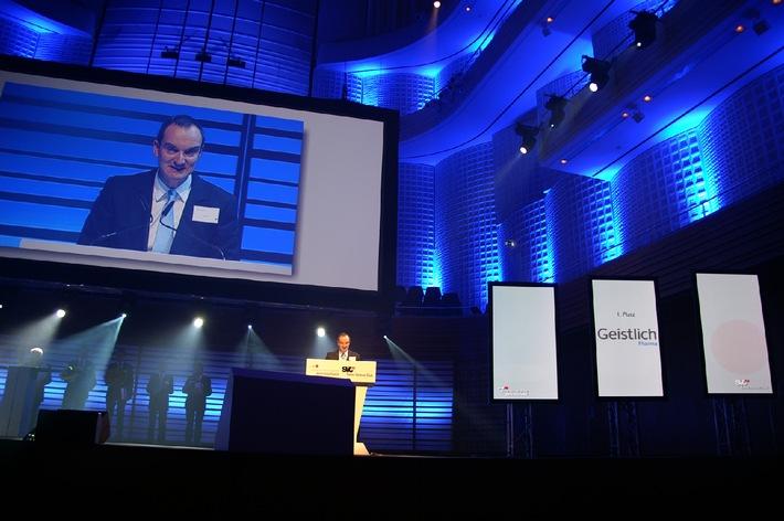 Geistlich Pharma gewinnt SVC Unternehmerpreis Zentralschweiz 2010