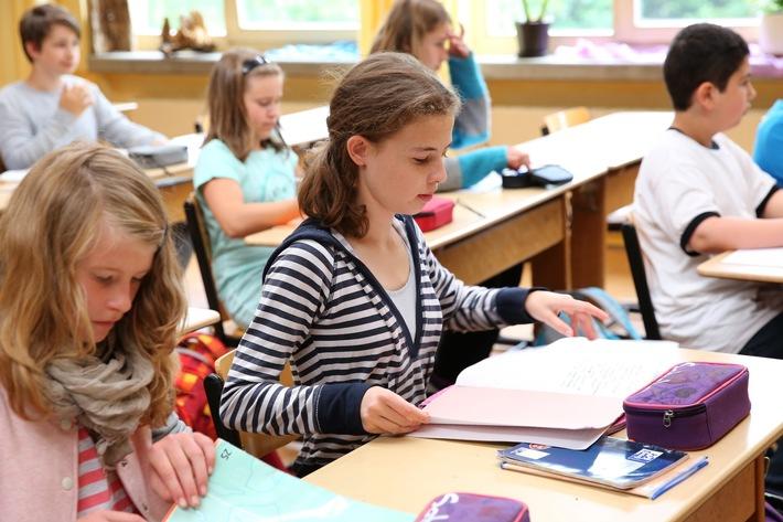 Unterricht an einer Freien Waldorfschule (Copyright: Bund der Freien Waldorfschulen)
