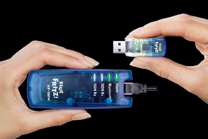 AVM BlueFRITZ! ISDN Set mit noch mehr Komfort