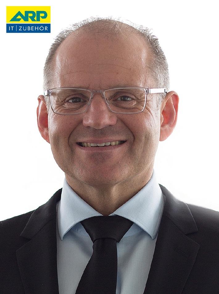 Ramon Roumans, neuer Bereichs-Vorstand für die ARP Gruppe per 1.4.2014.