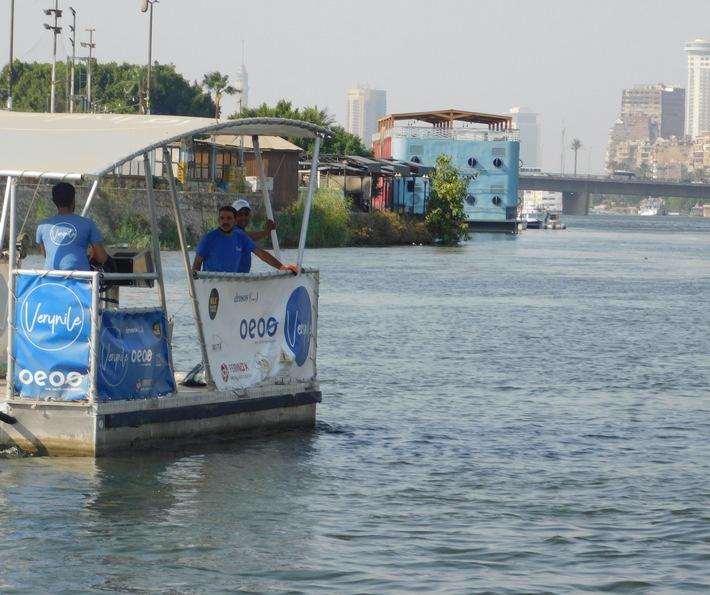 Die Badewanne der Europäer / Koalition zur Reinigung und zum Schutz des Flusses Nil geht an den Start