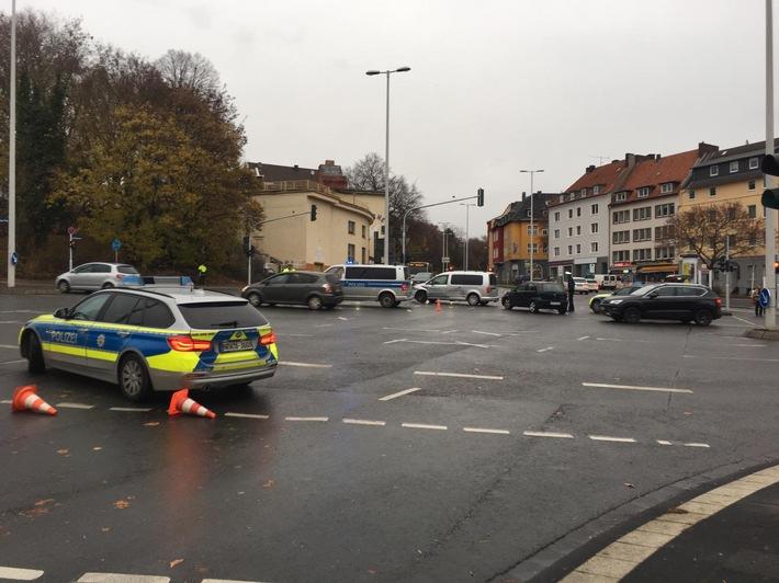 Verkehrsunfall Emilienplatz