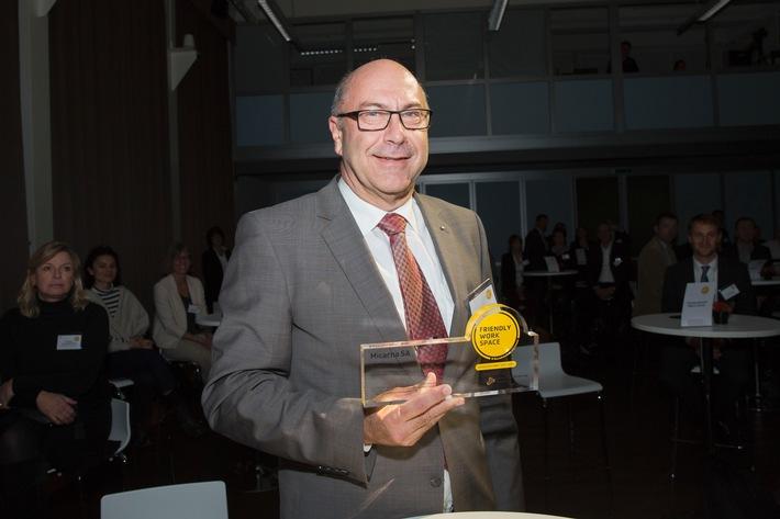 """Micarna-Gruppe: Auszeichnung als """"Friendly Work Space"""""""