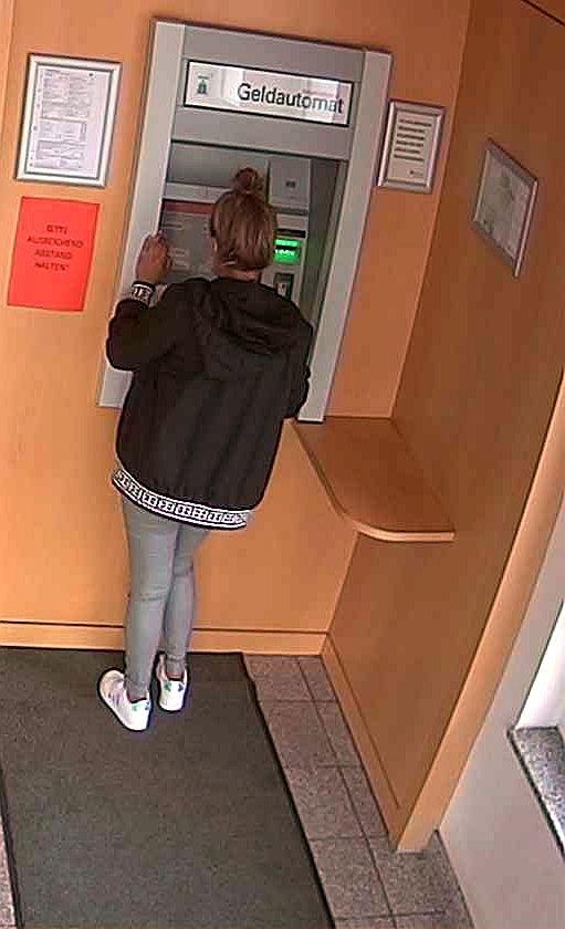 LPI-GTH: Geldabhebungen mit gestohlener EC-Karte - Öffentlichkeitsfahndung
