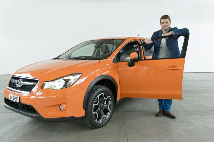 Stan Wawrinka e Subaru, la casa automobilistica pioniera della trazione integrale, hanno concluso una partnership (IMMAGINE + ALLEGATO)