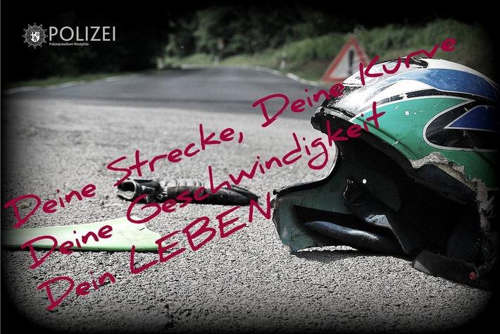 Viele Motorradunfälle passieren durch zu schnelles Tempo, falsches Fahrverhalten und eine zu hohe Risikobereitschaft. Deshalb lautet die Devise: Motorrad fahren - aber sicher!