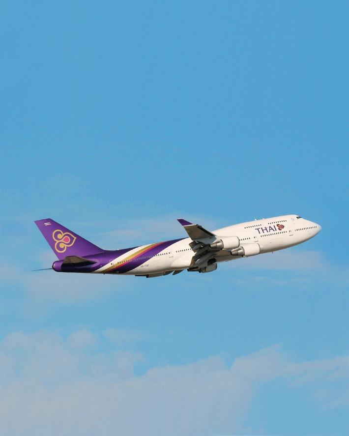 """Sensationell günstige Thailandreisen mit Tchibo und Thai Airways. Die Verwendung dieses Bildes ist für redaktionelle Zwecke honorarfrei. Abdruck bitte unter Quellenangabe: """"obs/Firmenname"""""""
