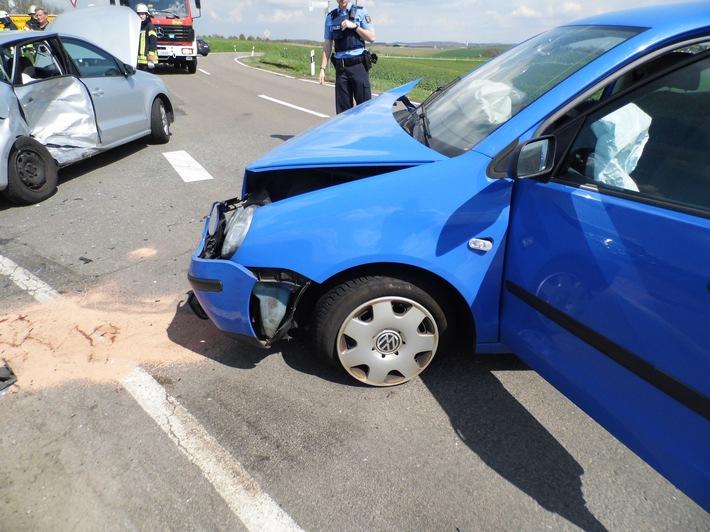 Unfall auf der L 465