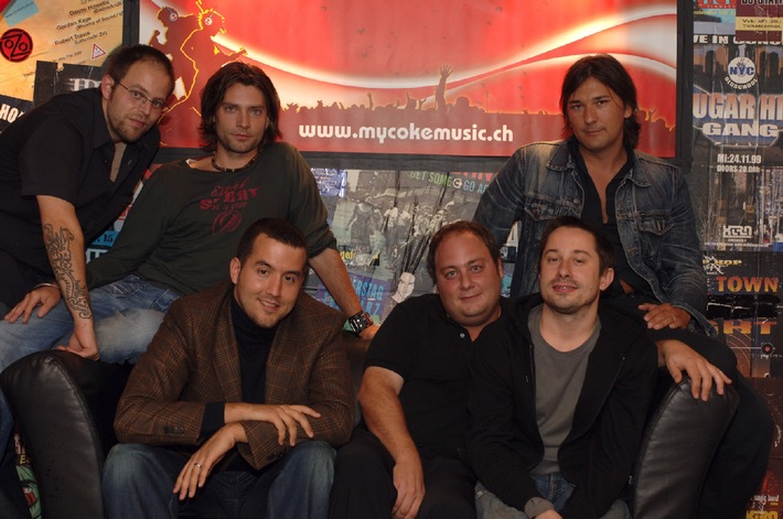 """Songcontest """"Soundcheck 2005"""" auf www.mycokemusic.ch - Die Siegerband steht fest"""