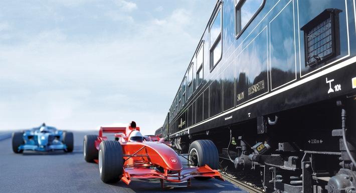 Im Kaiserzug zum Grand Prix von Österreich