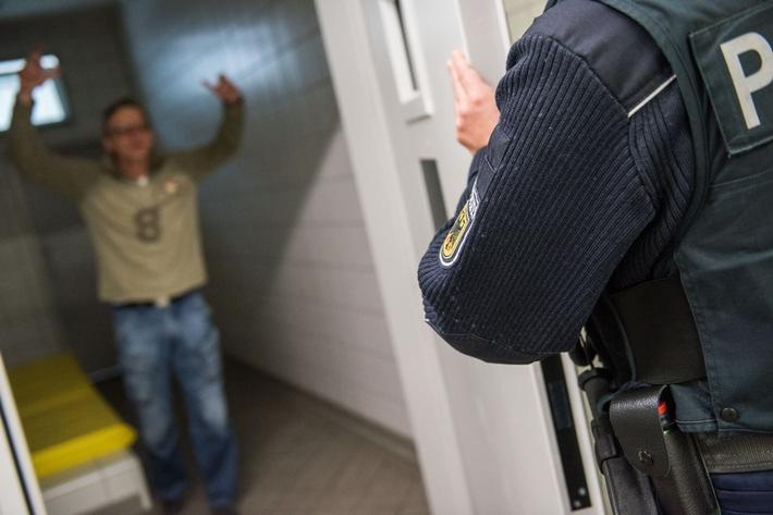 Wohnsitzloser mit 3,58 Promille wird in Gewahrsam genommen