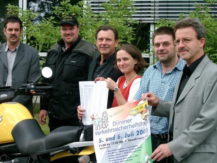 v.l.:Karl-Josef-Schick, Stefan Schmitz, Norbert Eskens, Sabine Wagner, Ralf Schwuchow und Horst Lock