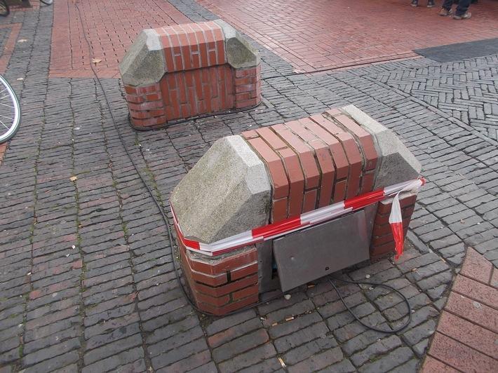 Beschädigungen in Emden (Verkehrsunfallflucht)