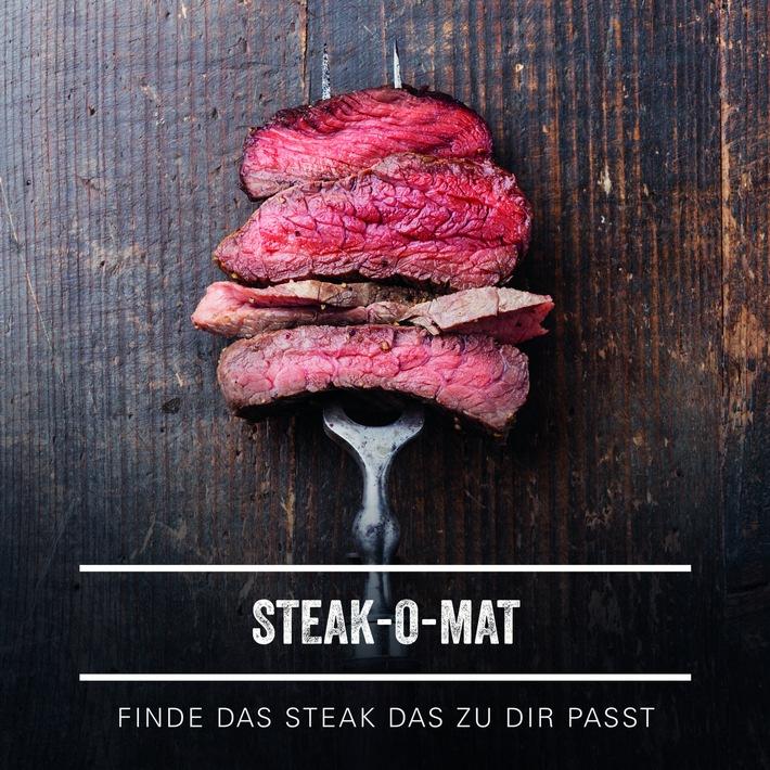 """Der erste online Steakberater. Weiterer Text über ots und www.presseportal.de/nr/77499 / Die Verwendung dieses Bildes ist für redaktionelle Zwecke honorarfrei. Veröffentlichung bitte unter Quellenangabe: """"obs/Schulte-Sohn/GOURMETFLEISCH.DE"""""""