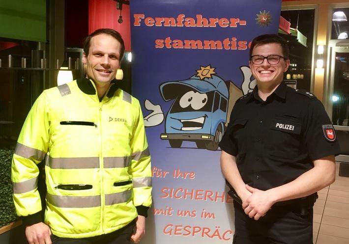 Sven Schaadt und POK Jens Platen