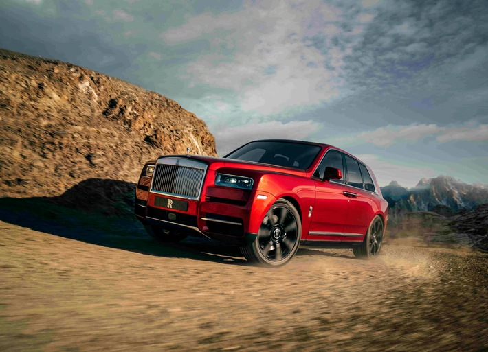 EFFORTLESS EVERYWHERE: Der Rolls-Royce Cullinan
