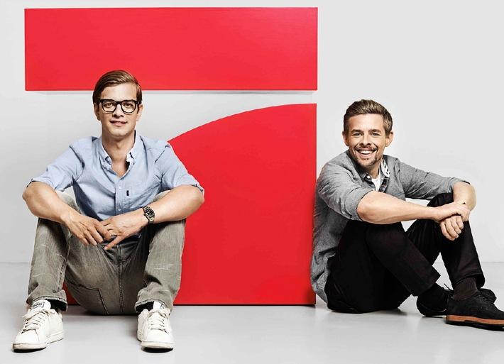 WE LOVE! Joko & Klaas ab sofort exklusiv auf ProSieben (BILD)