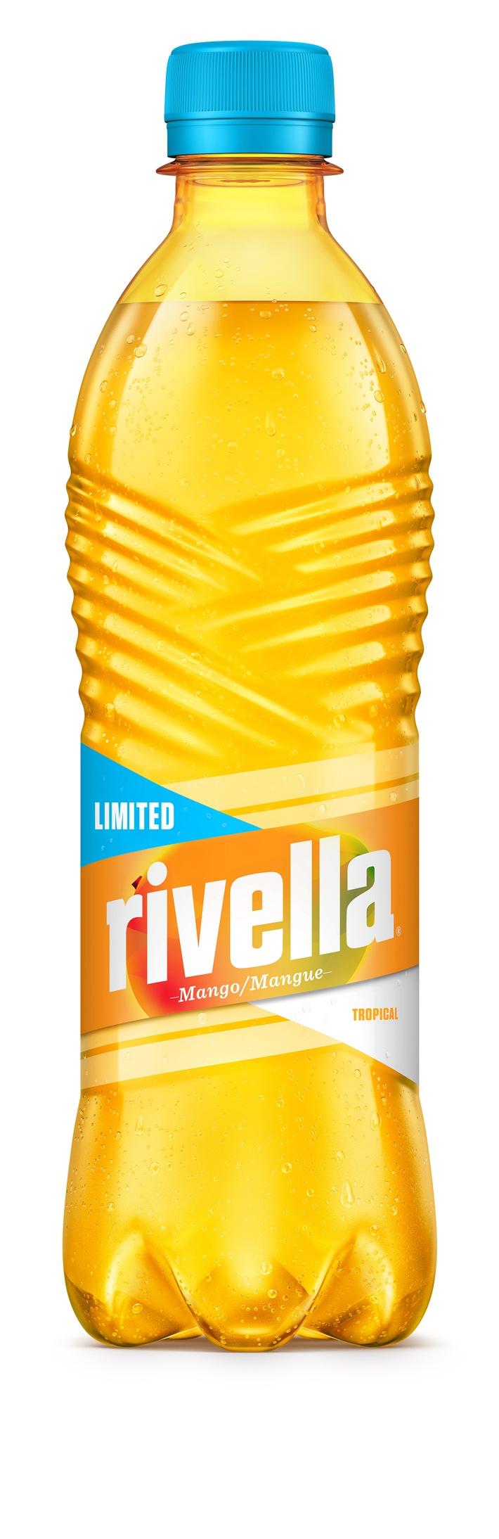Rivella Mango - der neue Sommergeschmack