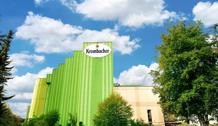 """Außenansicht der Krombacher Brauerei / Krombacher Gruppe behauptet sich gut in einem äußerst schwierigen Geschäftsjahr 2020 / Der Gesamtausstoß der Krombacher Gruppe ist im Corona-Jahr um 2,5 % auf 7,403 Mio. Hektoliter gesunken / Weiterer Text über ots und www.presseportal.de/nr/42000 / Die Verwendung dieses Bildes ist für redaktionelle Zwecke honorarfrei. Veröffentlichung bitte unter Quellenangabe: """"obs/Krombacher Brauerei GmbH & Co."""""""