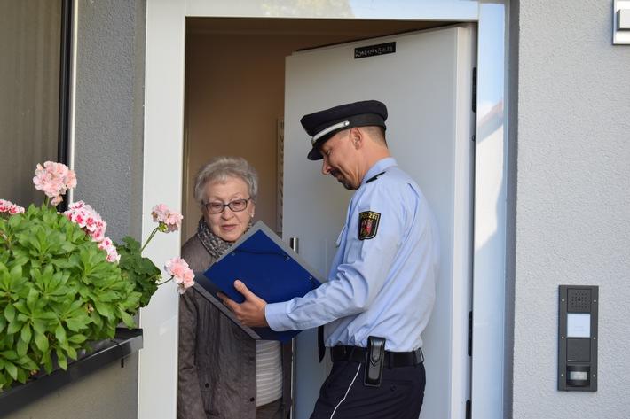 Die Polizei Rheinland-Pfalz berät Sie auch zu Hause!