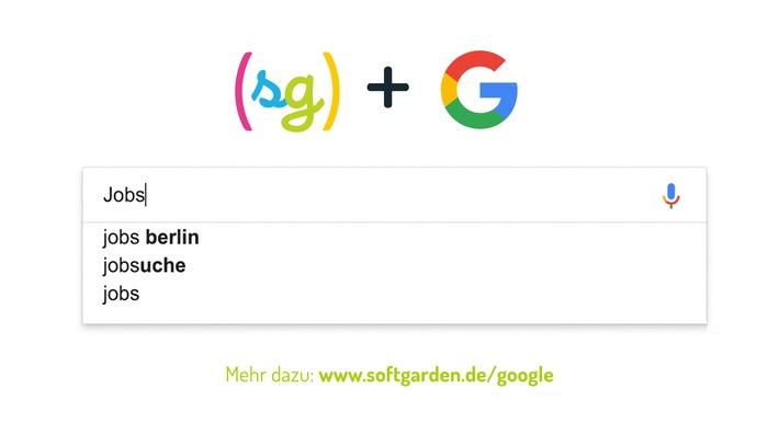 """Google einfach fürs Recruiting nutzen / Recruiting-Rundumlösung softgarden ist zertifizierter Google Partner / Team von Suchmaschinen-Spezialisten / softgarden meets Google /  Weiterer Text über ots und www.presseportal.de/nr/100361 / Die Verwendung dieses Bildes ist für redaktionelle Zwecke honorarfrei. Veröffentlichung bitte unter Quellenangabe: """"obs/softgarden"""""""
