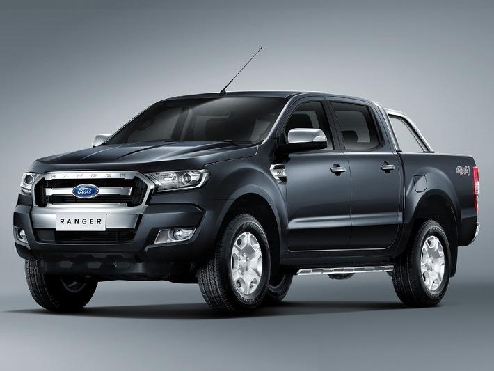 Neuer Ford Ranger mit frischem Design, cleveren Technologien und verbesserter Kraftstoffeffizienz