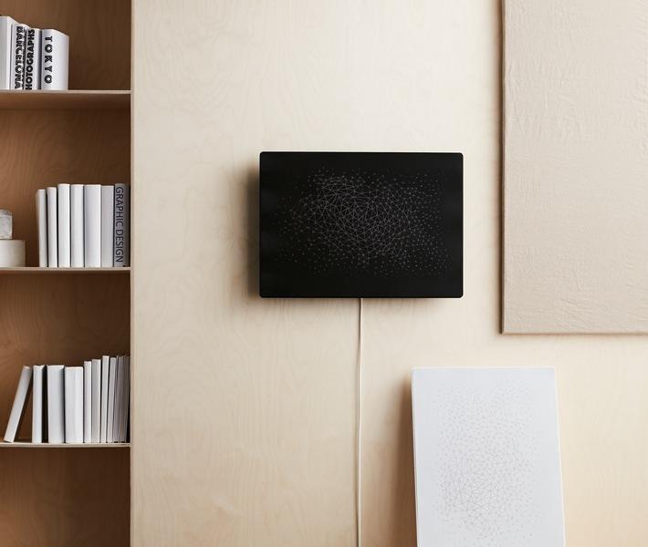 IKEA SYMFONISK Rahmen mit WiFi-Speaker / Weiterer Text über ots und www.presseportal.de/nr/29291 / Die Verwendung dieses Bildes ist für redaktionelle Zwecke unter Beachtung ggf. genannter Nutzungsbedingungen honorarfrei. Veröffentlichung bitte mit Bildrechte-Hinweis.