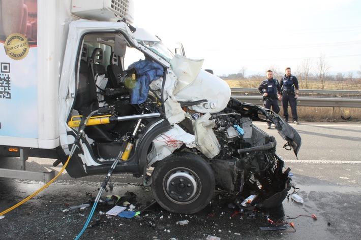 Schwerer Unfall auf der BAB 61