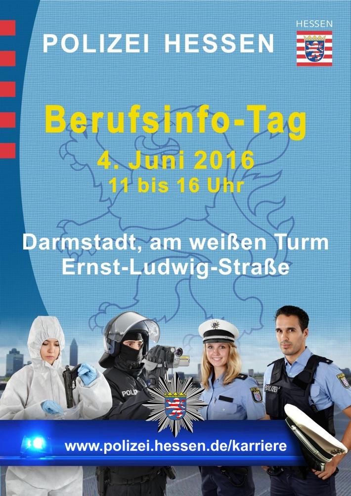 Pol Da Darmstadt Berufsinformationstag Der Polizei Am Weißen