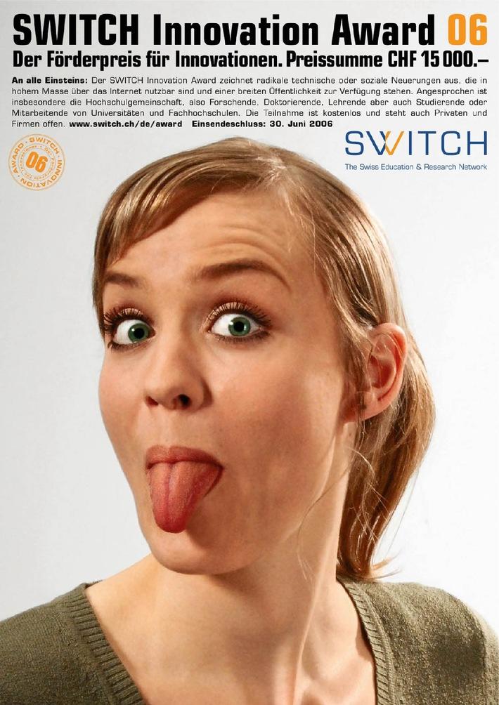 Ausschreibung SWITCH Innovation Award 2006