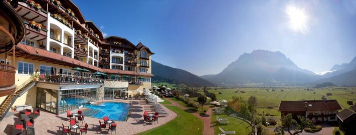 Hotel Post Lermoos, Tirol, gewinnt European Health & SPA-Award 2014 - BILD