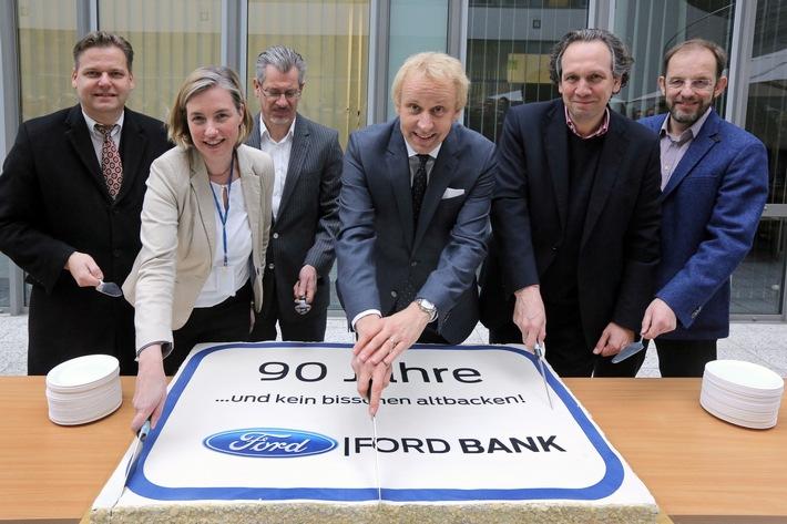 90 Jahre jung - Ford Bank Deutschland