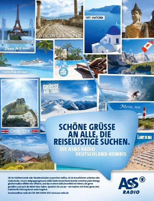 Tourismus / AS&S Radio bricht innerhalb der Tourismus Branche zu neuen Ufern auf