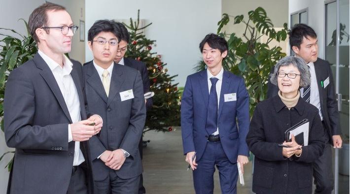 Japanischer Spitzenverband der Energiewirtschaft zu Gast bei e2m - JEPIC zeigt Interesse an e2m Vermarktungsmodellen und dem Betrieb Virtueller Kraftwerke