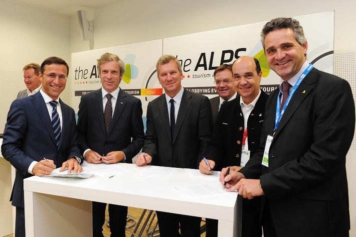 Mit theALPS 2012 gelang ein starkes gemeinsames Signal der Alpentouristiker - BILD