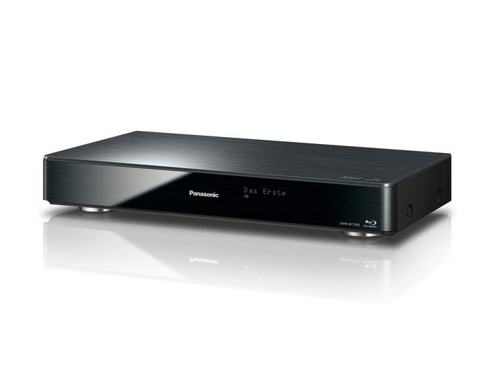 Panasonic Blu-ray Recorder DMR-BCT/BST950 / Komplette Video Home Server mit Triple HD Tuner, TV>IP, High-Res Audio, TV Anywhere, 4K Upscaling, 4K JPEG und 4K Video u.v.m.