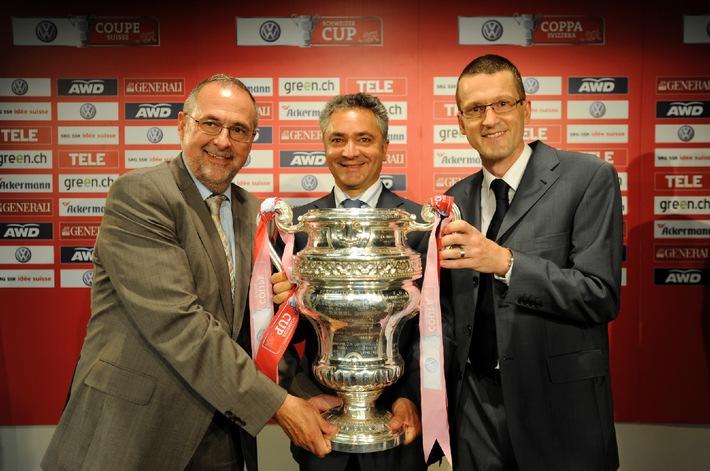 Volkswagen wird Presenting Sponsor des Schweizer Fussball Cups