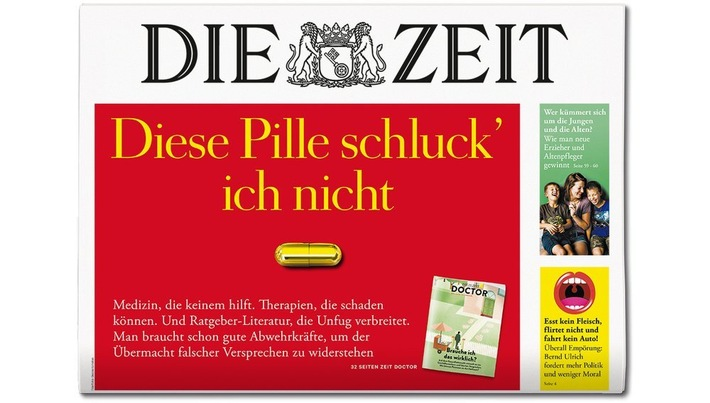 DIE ZEUT 37/18. Weiterer Text ber ots und www.presseportal.de/nr/9377 / Die Verwendung dieses Bildes ist fr redaktionelle Zwecke honorarfrei. Verffentlichung bitte unter Quellenangabe: