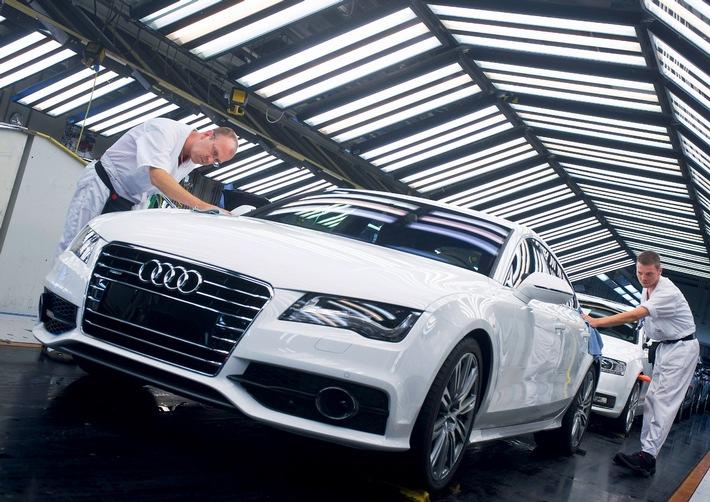 AUDI AG: Rekordabsatz fest im Blick (mit Bild)